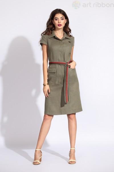 М2895P1001 платье жен