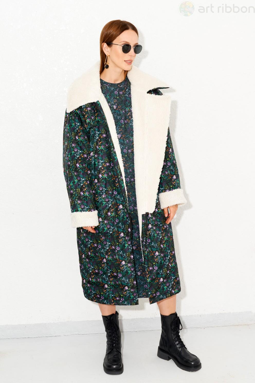 М3576K пальто женское